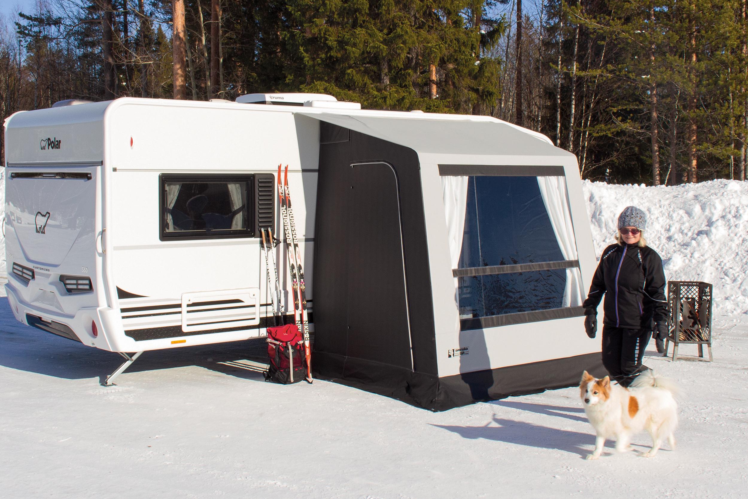 Förtält Svenska Tält Combi Lux | Vintertält Förtält | Camping
